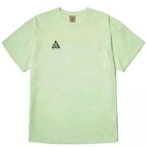 Nike ACG Logo Tee Barely Volt T-Shirt Large